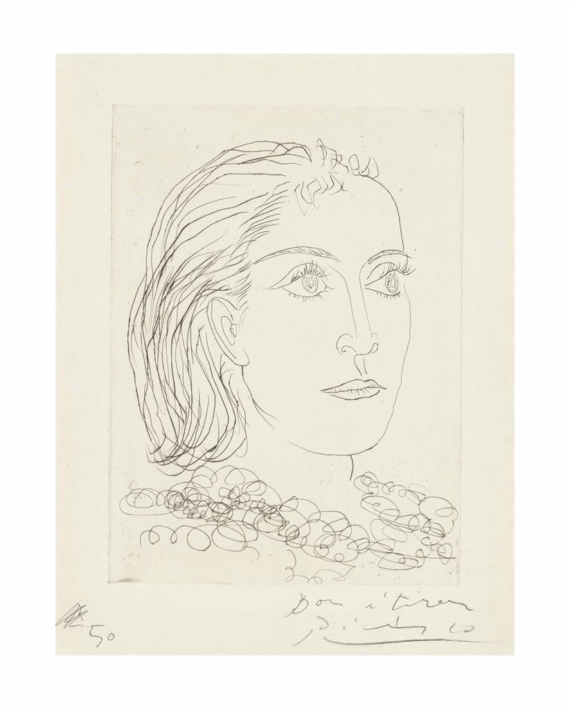 Pablo Picasso-Portrait de Dora Maar-1937