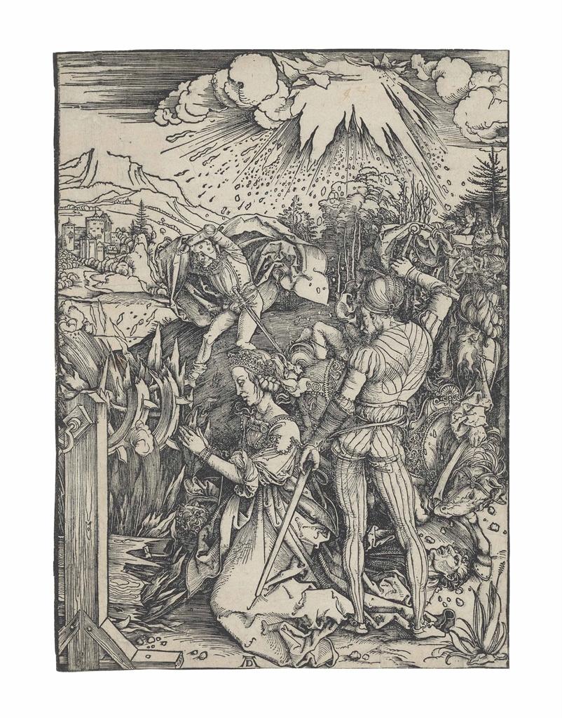 Albrecht Durer-The Martyrdom of Saint Catherine-1498