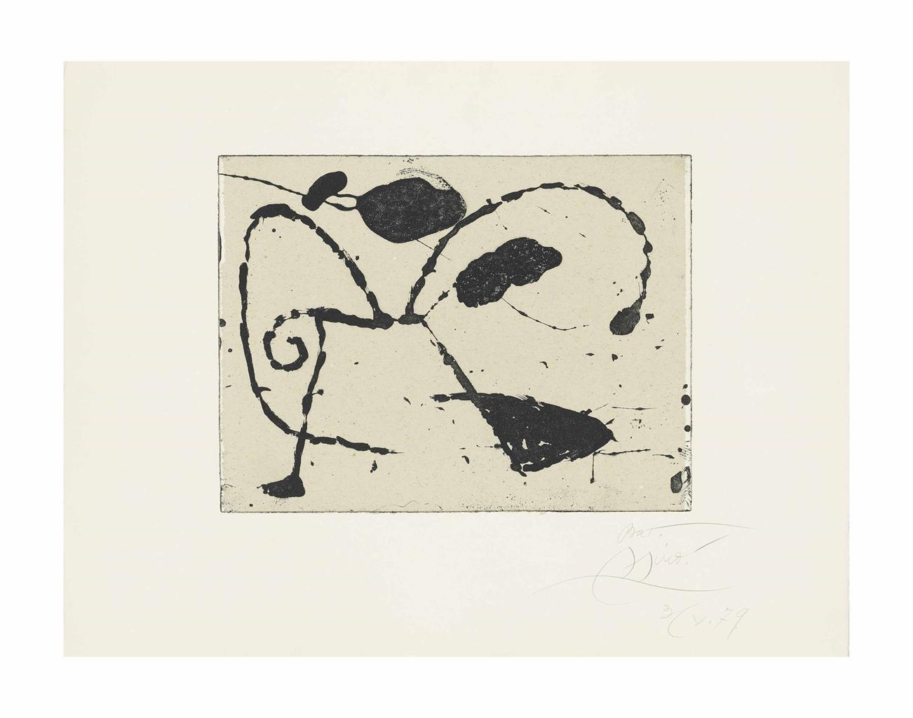 Joan Miro-Ocells de Montroig I-1979