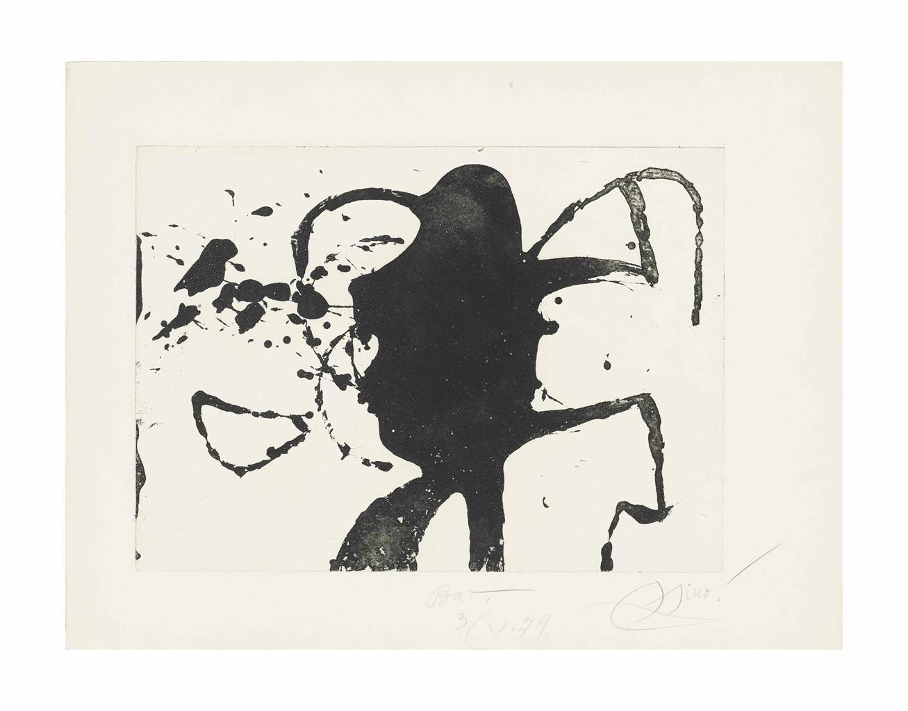Joan Miro-Ocells de Montroig II-1979