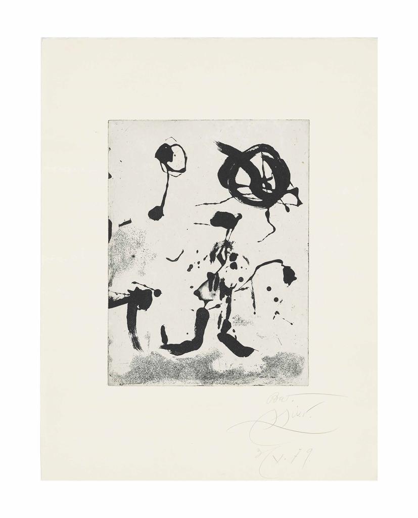 Joan Miro-Ocells de Montroig III-1979