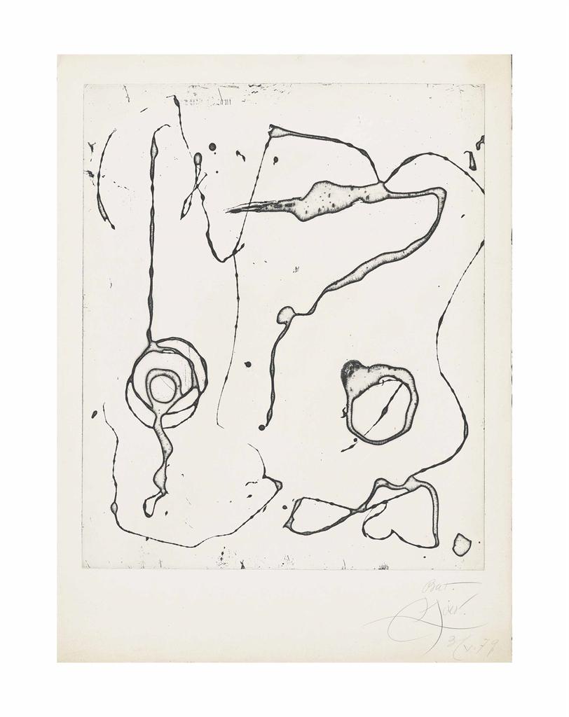 Joan Miro-Ocells de Montroig V-1979