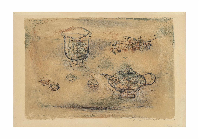 Zao Wou-Ki-La theiere (The tea pot)-1952
