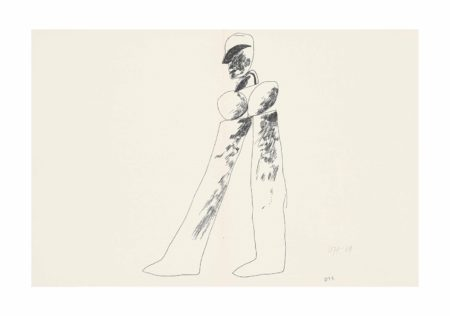 David Hockney-Man, from: Recontres-1964