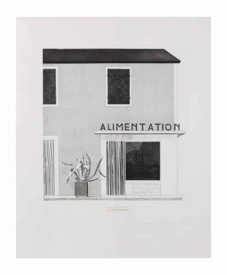 David Hockney-French Shop-1971