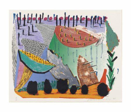 David Hockney-Slow Rise-1993