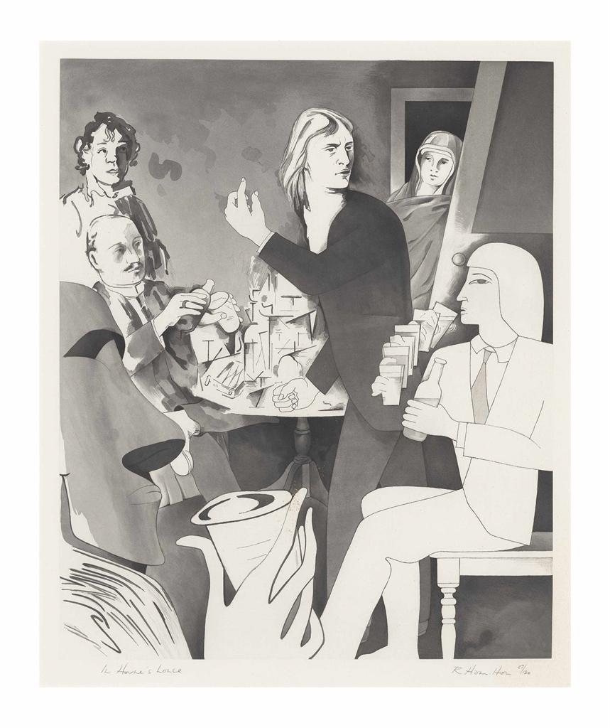 Richard Hamilton-In Horne's House-1982