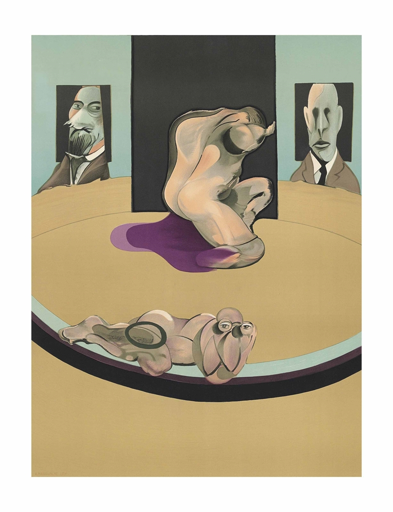Francis Bacon-Metropolitan Museum of Art-1975