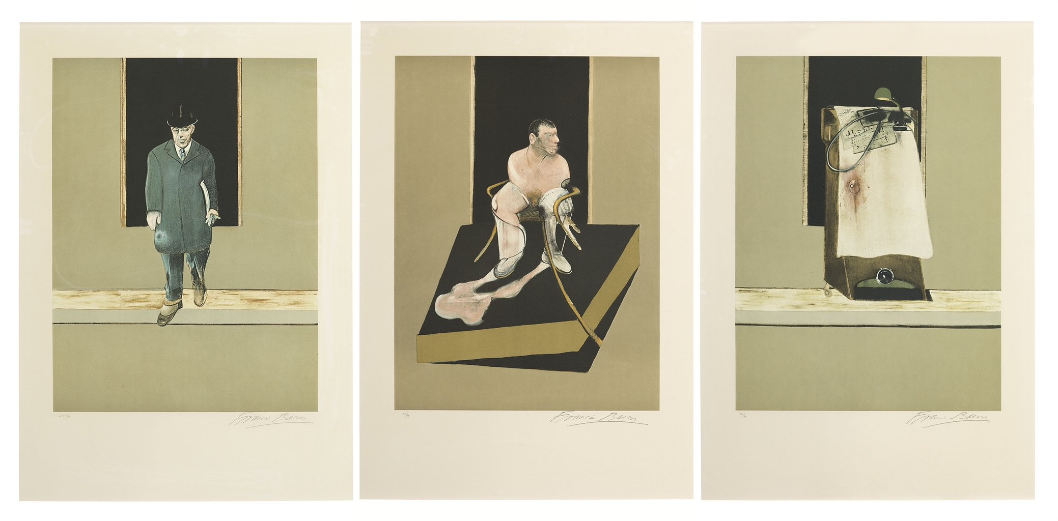 Francis Bacon-Triptych 1986-1987-1987