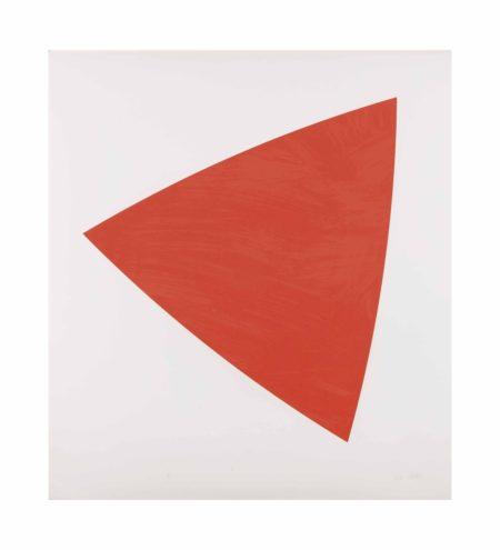 Ellsworth Kelly-Untitled (Red State II)-1988