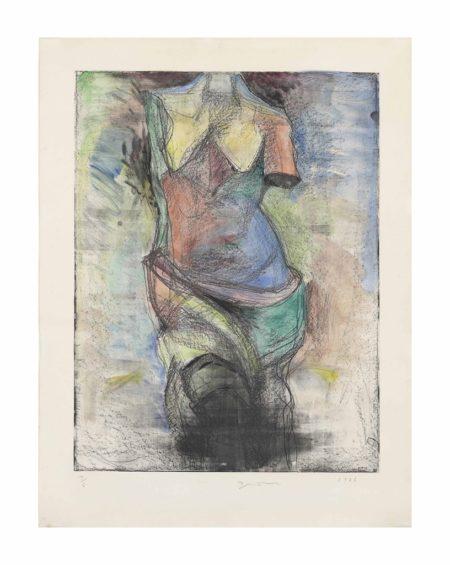 Jim Dine-The French Watercolour Venus-1985