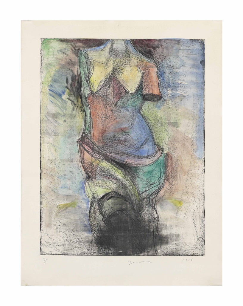 Jim Dine-The French Watercolour Venus-1985