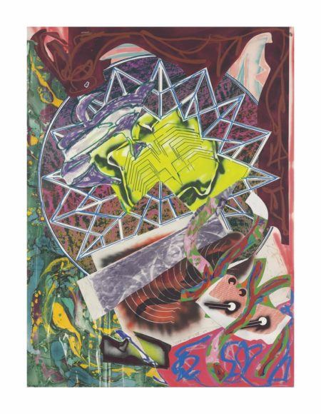 Frank Stella-Squid, from: The Waves-1989
