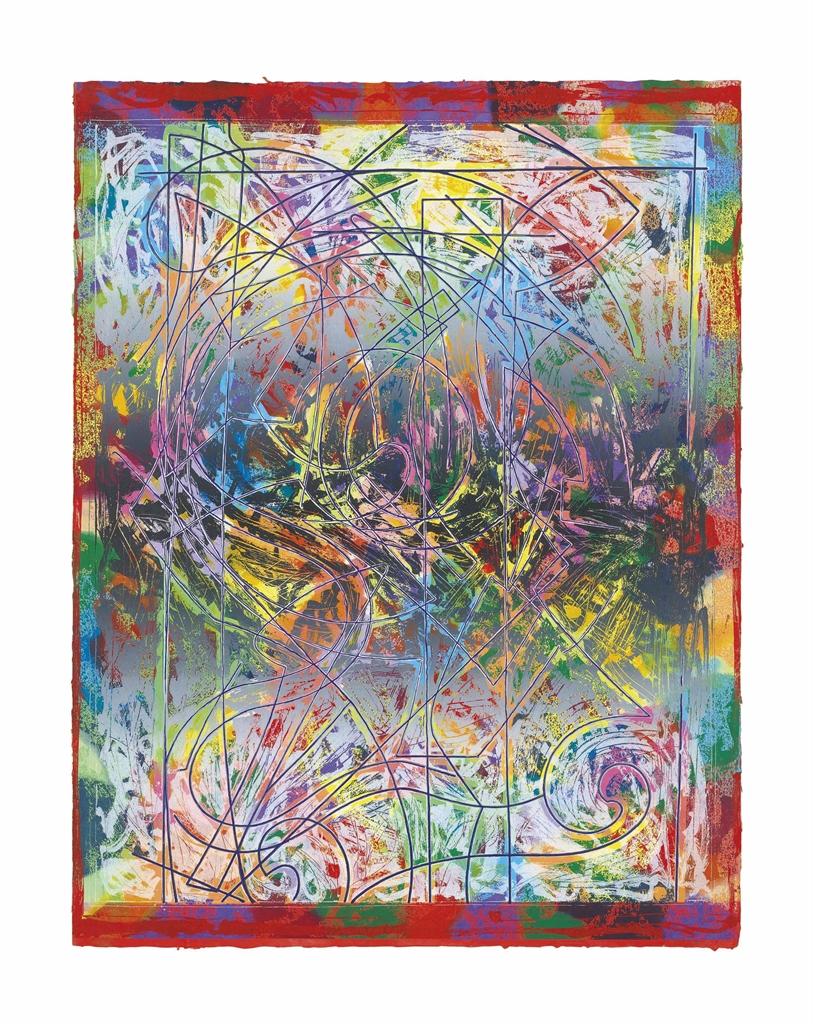 Frank Stella-Talladega II-1982