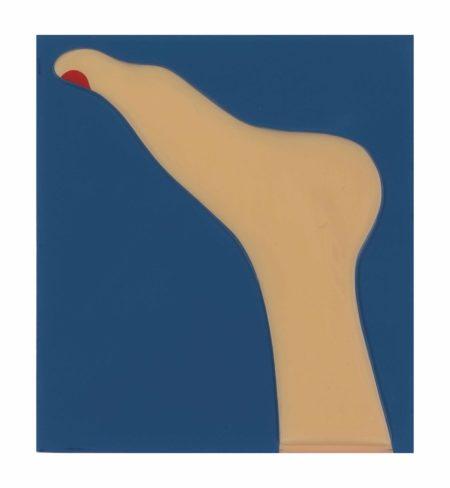 Tom Wesselmann-Seascape (Foot)-1967