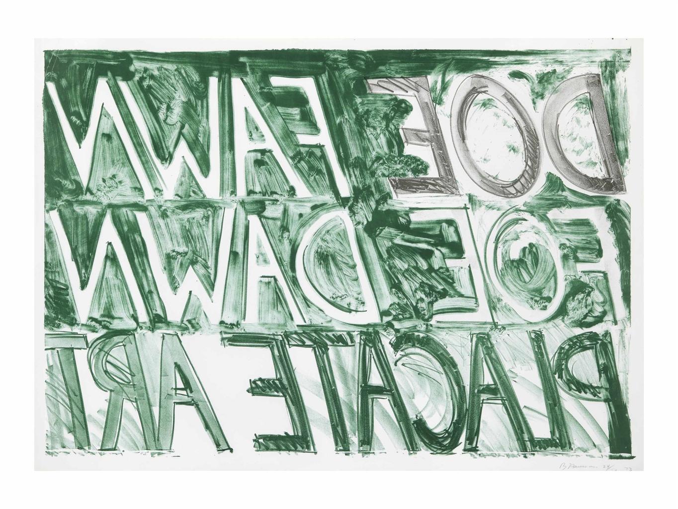 Bruce Nauman-Doe Fawn-1973