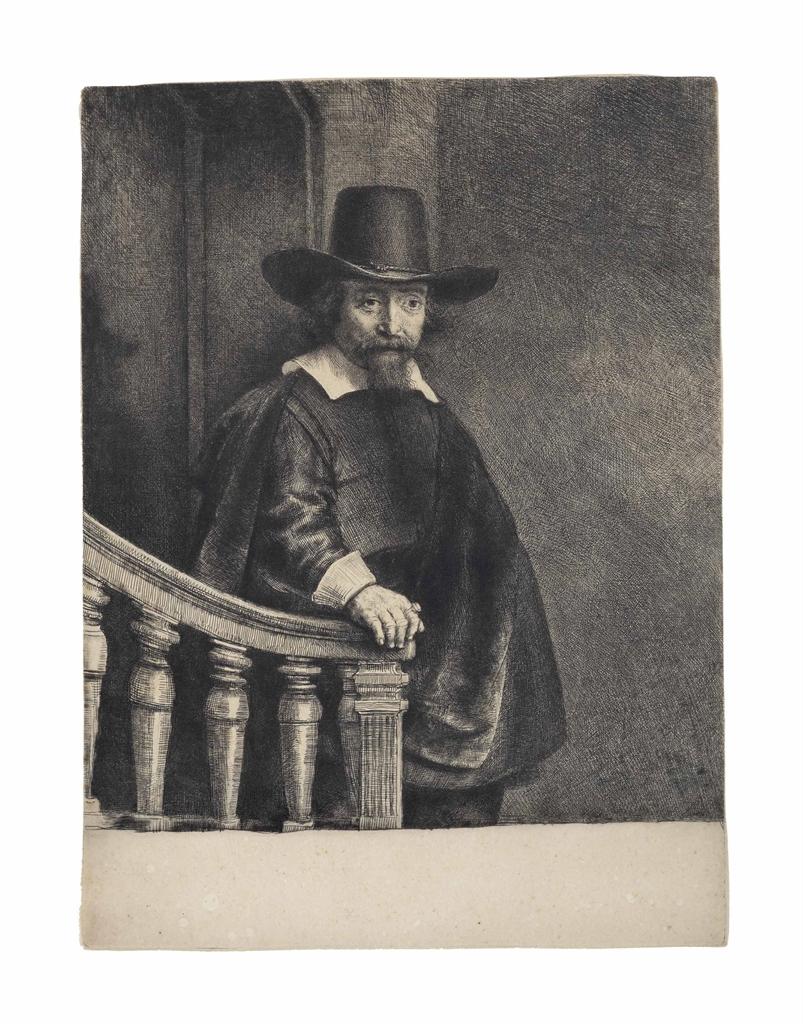 Rembrandt van Rijn-Ephraim Bonus, Jewish Physician-1647