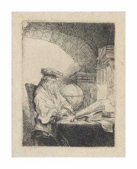 Ferdinand Bol-The Astrologer-1680