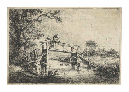 Adriaen van Ostade-The Anglers-1653
