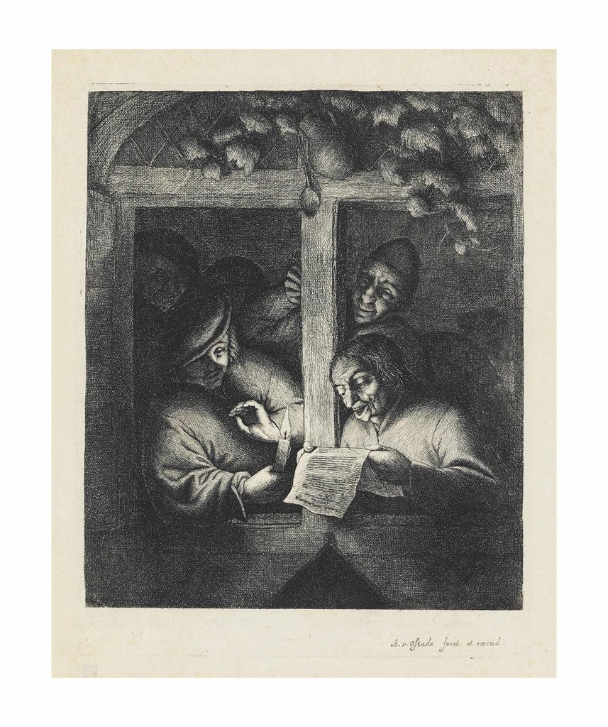 Adriaen van Ostade-The Singers-1667