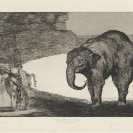 Francisco de Goya-The four additional plates for: Los Proverbios; Goya's Self-Portrait-1877
