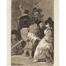 Francisco de Goya-Nadie se conoce, plate 6, from: Los Caprichos-1799