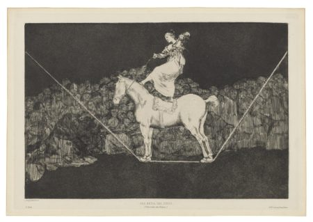 Francisco de Goya-The four additional plates for: Los Proverbios-1824