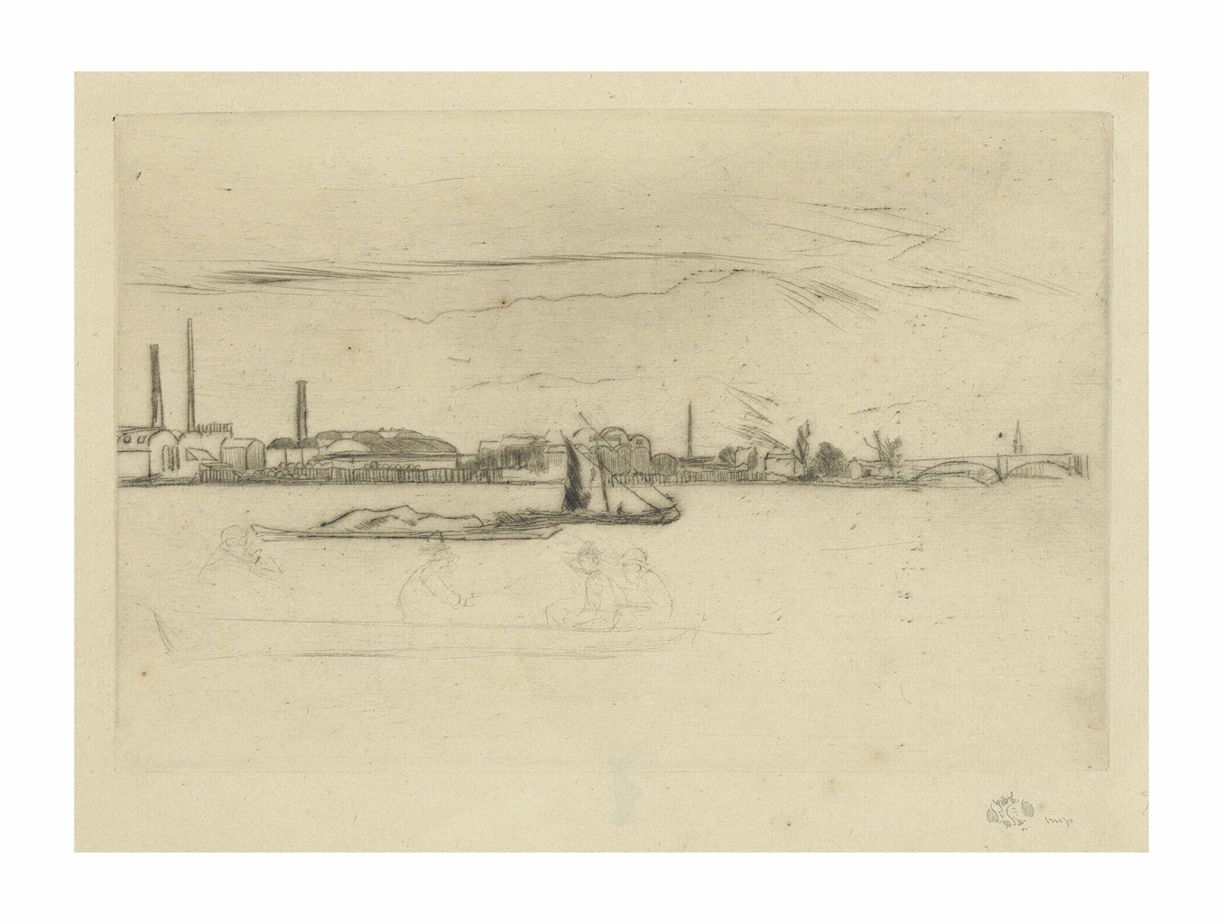 James Abbott McNeill Whistler-Price's Candle Factory-1877