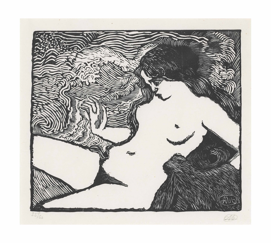 Aristide Maillol-La Vague-1898