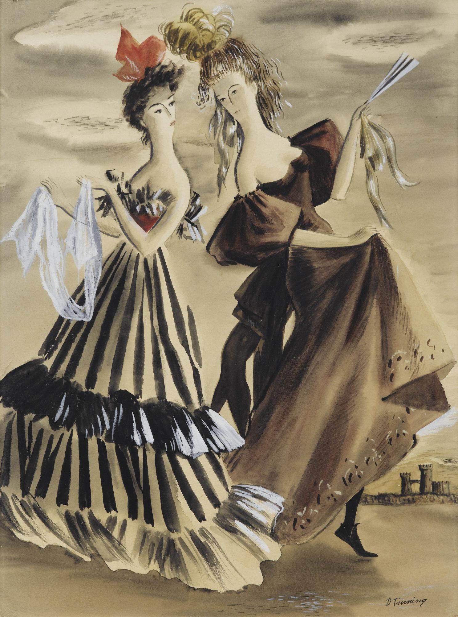 Dorothea Tanning-Tarantelle-1939
