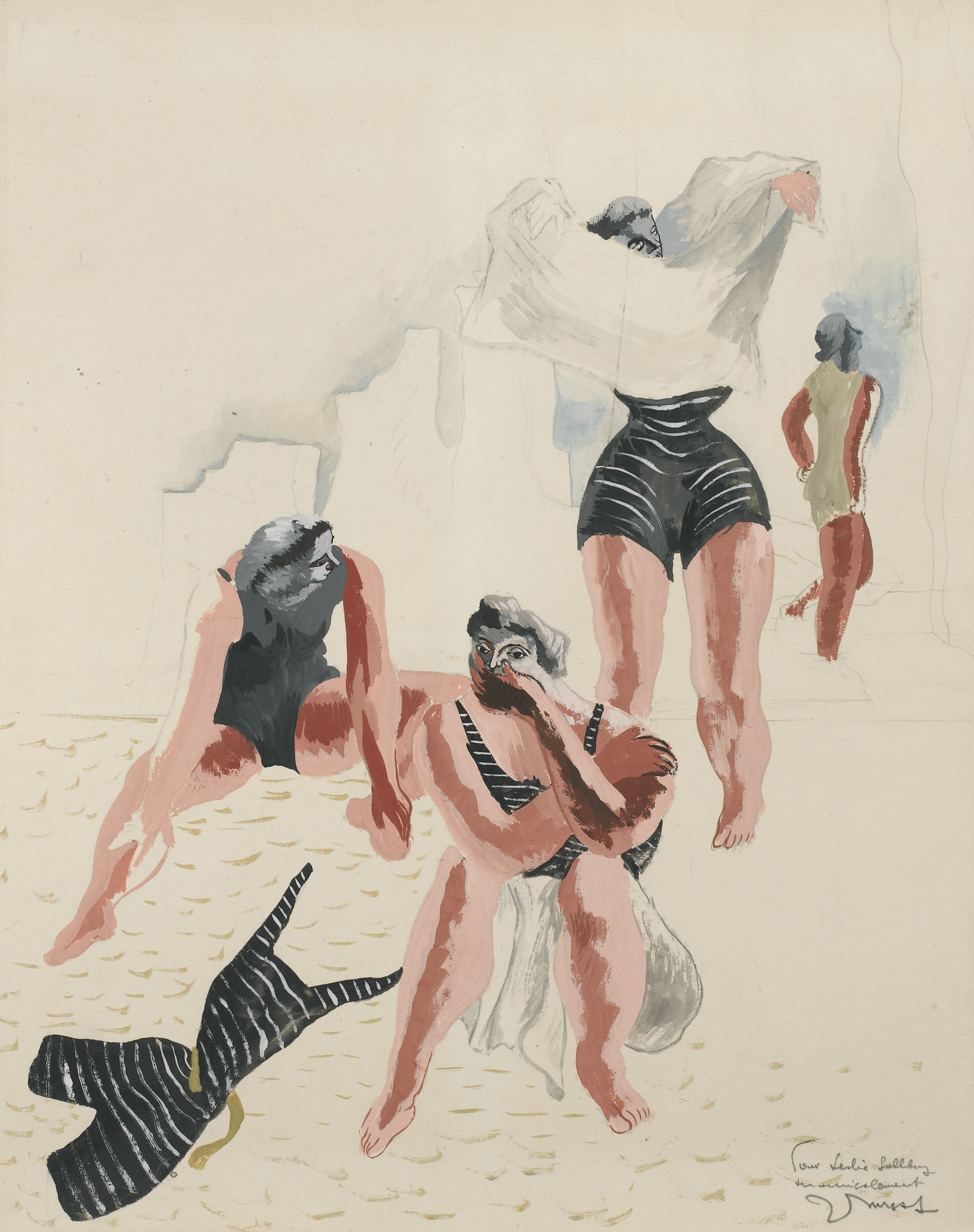 Jean Lurcat-Baigneuses-1933