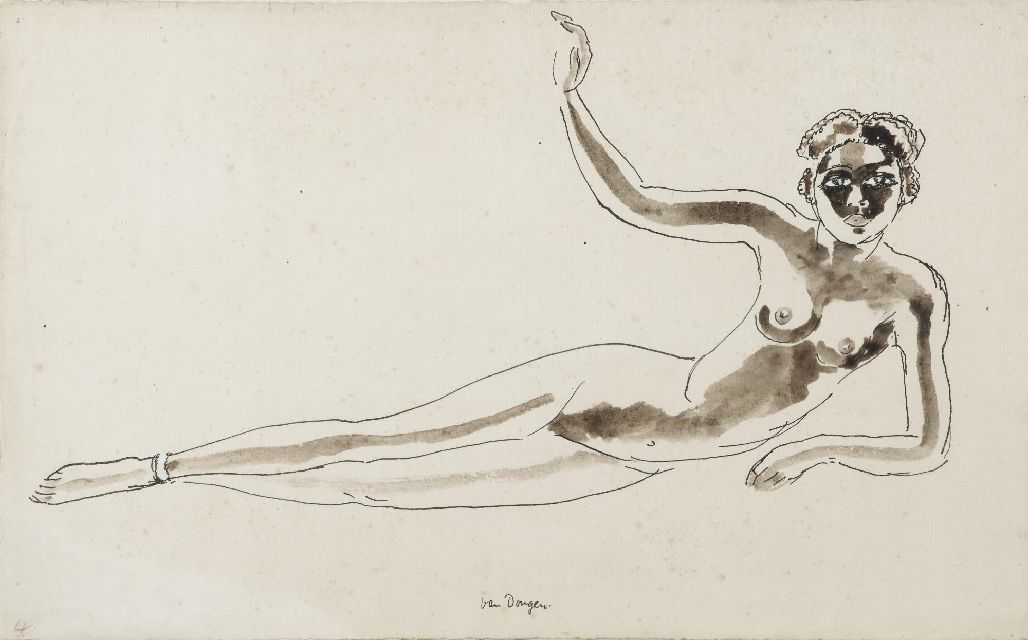 Kees van Dongen-Nu Couche-1920