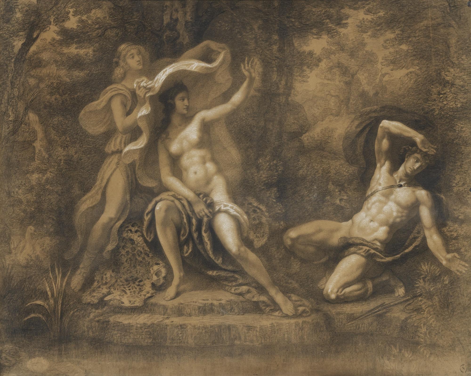Armand Point-Diane Et Acteon-
