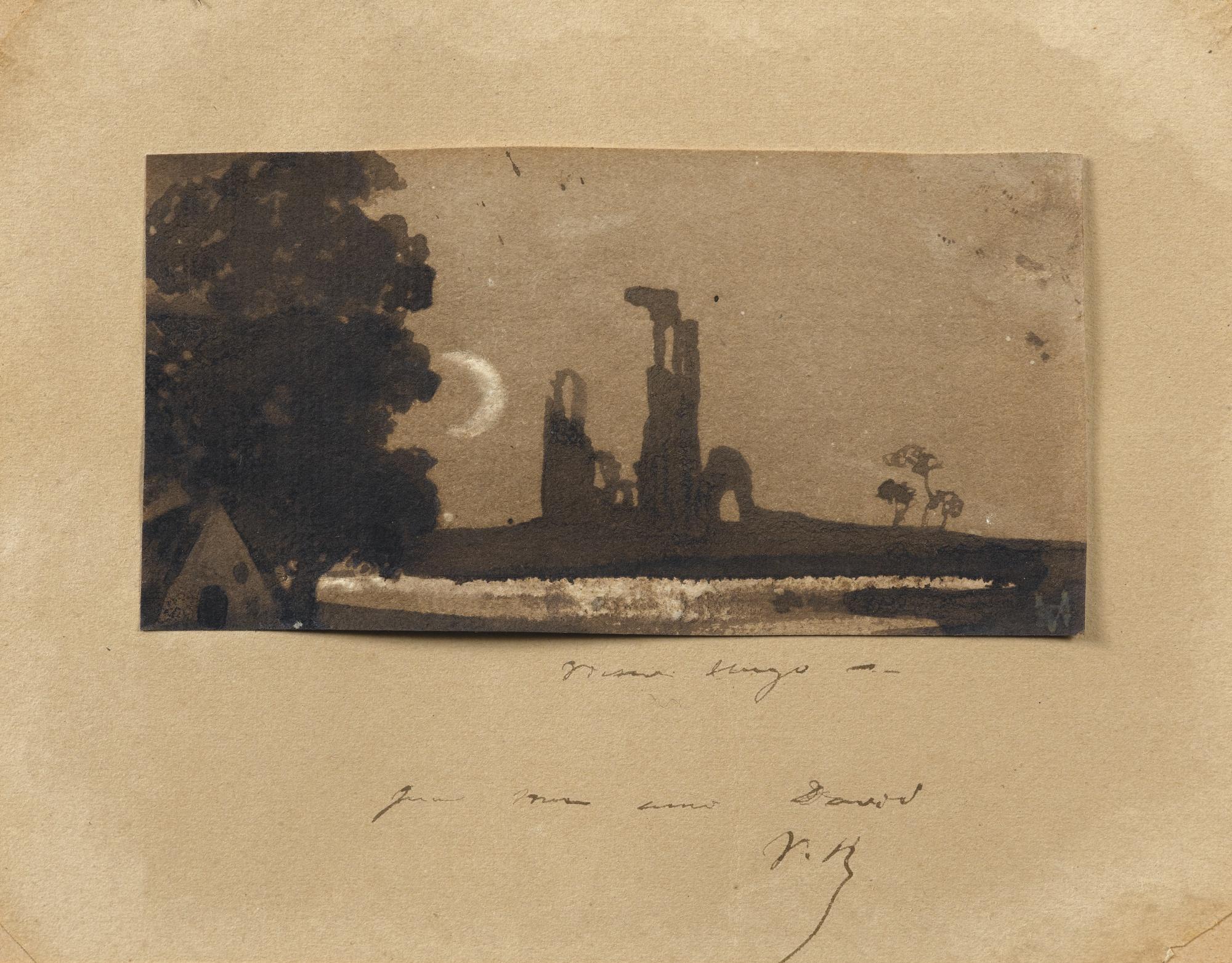 Victor Marie Hugo-Ruins Of A Burg-