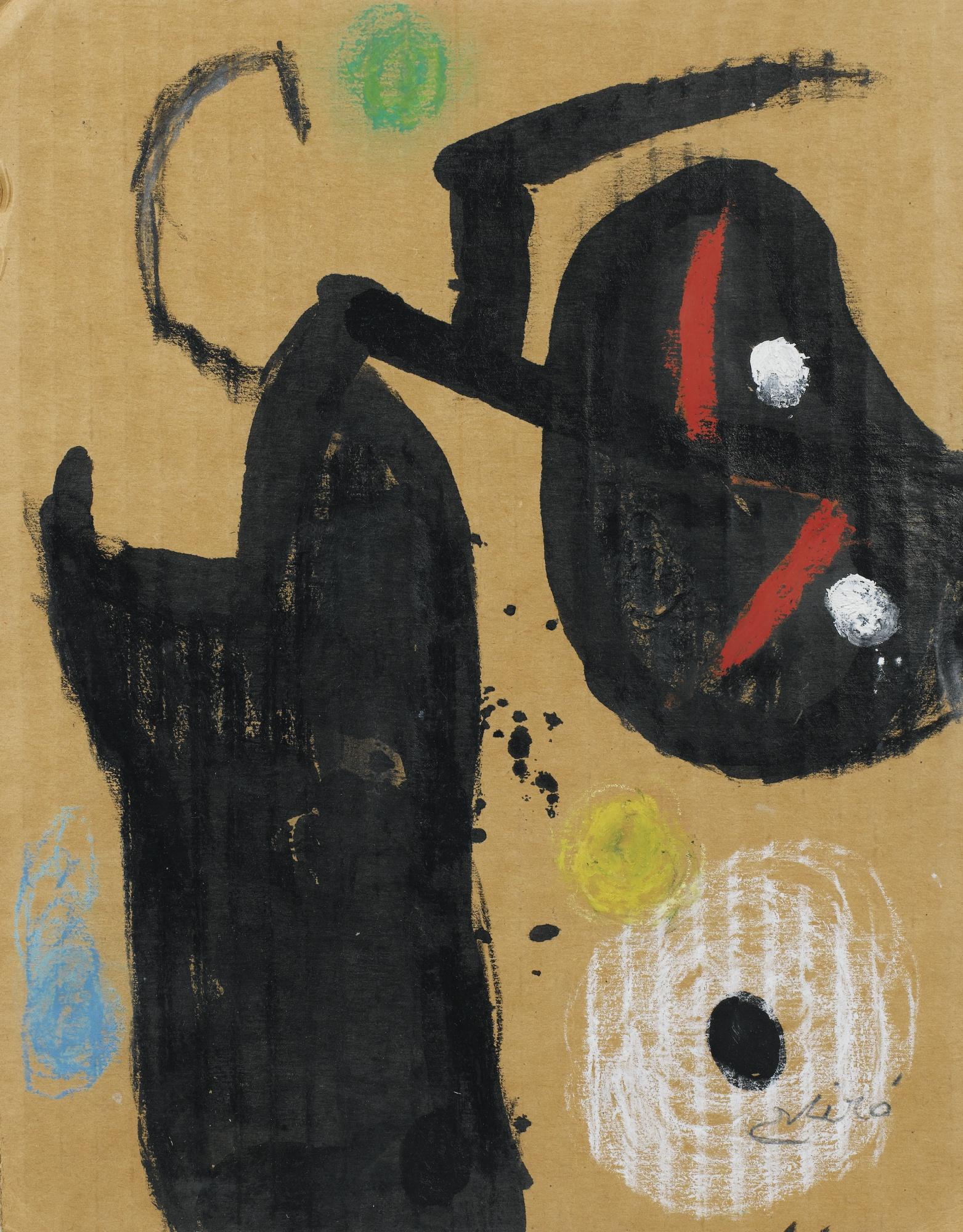 Joan Miro-Personnage-1981
