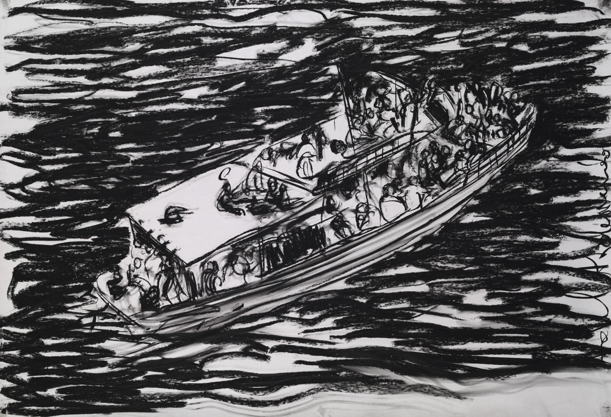 Adel Abdessemed-Lampedusa-2014
