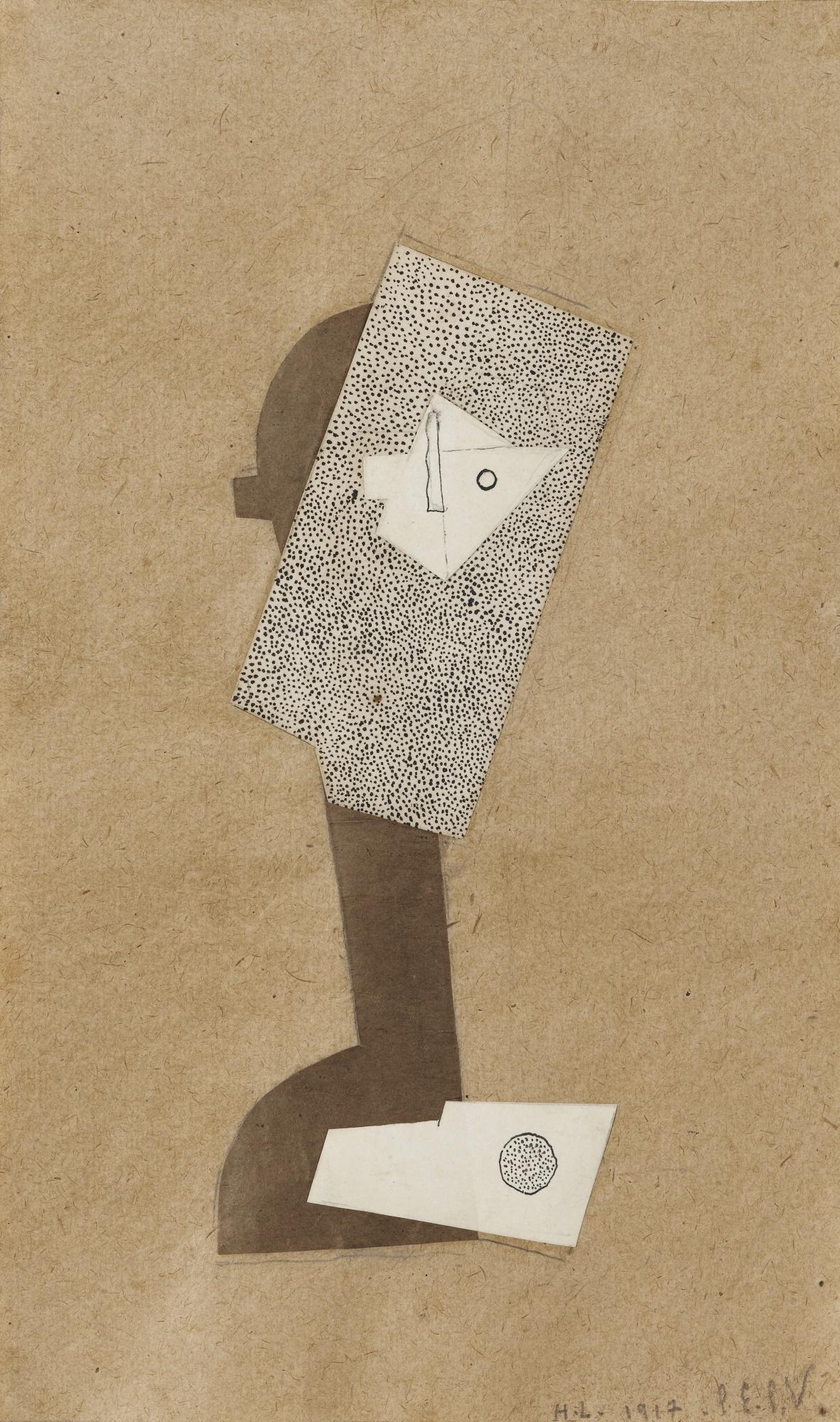 Henri Laurens-Tete De Femme-1917
