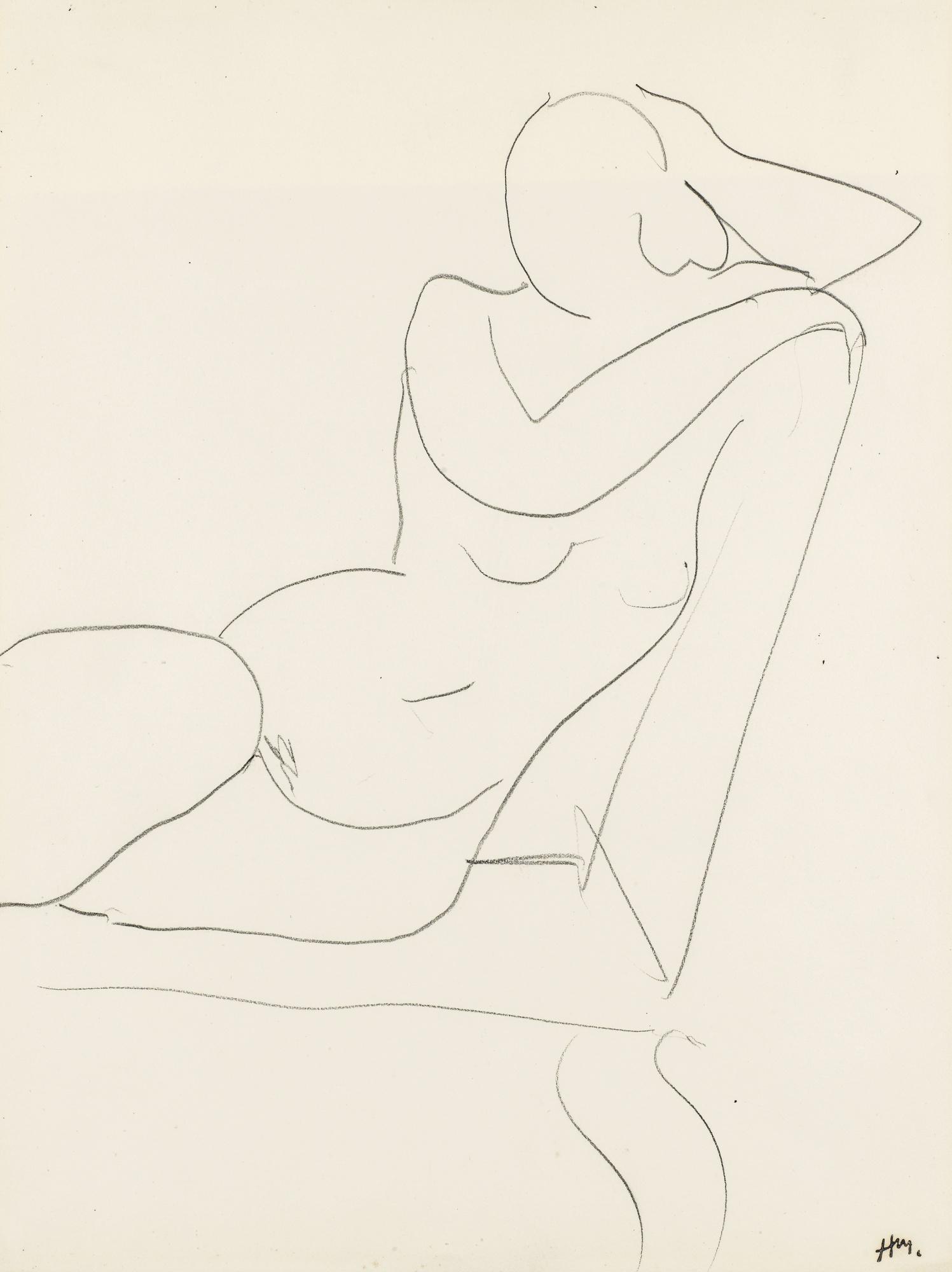 Henri Matisse-Nu A La Chaise Jaune-1936