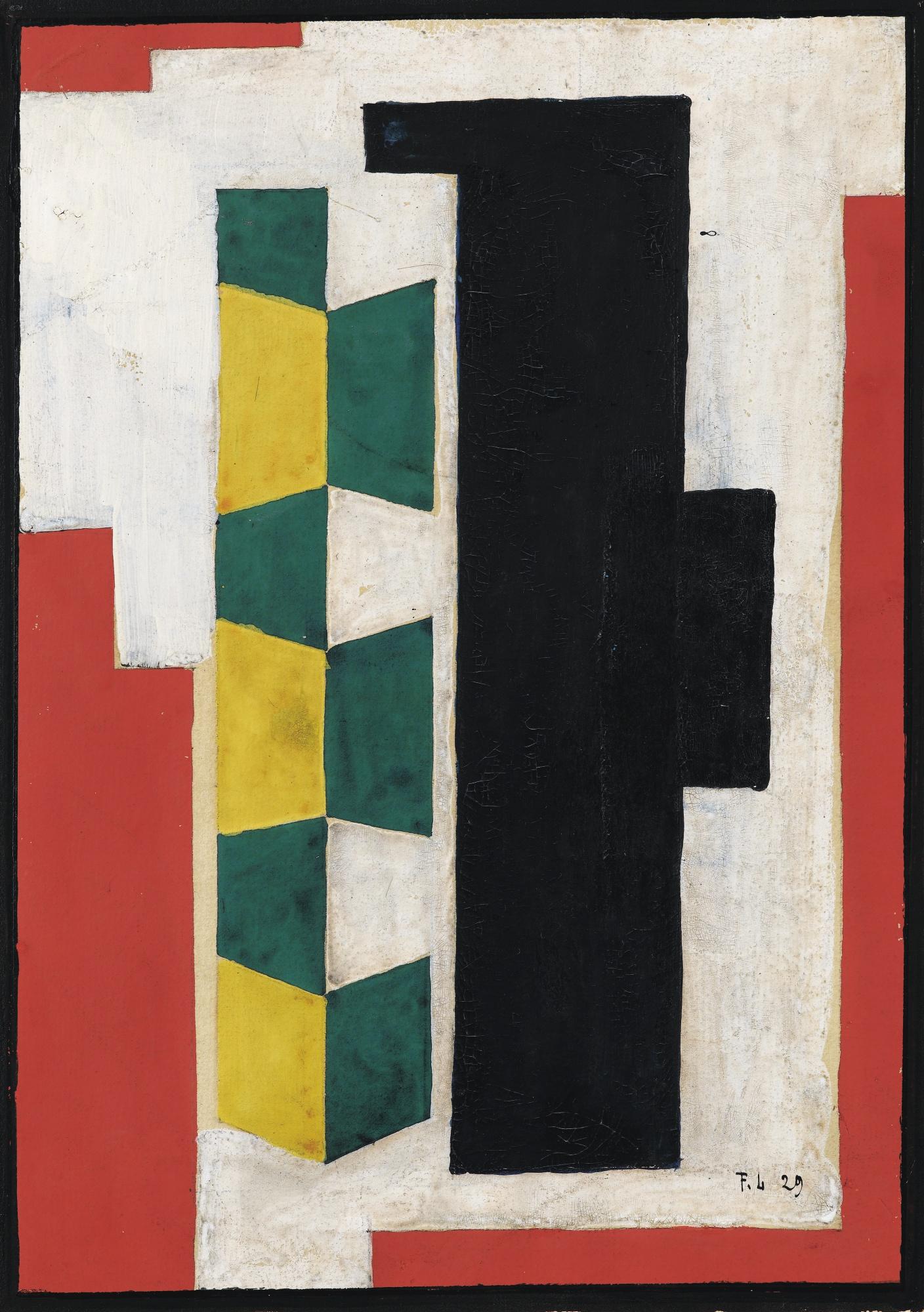 Fernand Leger-Composition Murale-1929