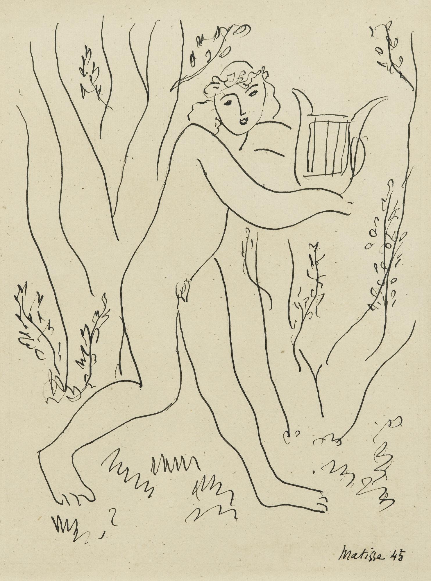 Henri Matisse-Orphee-1945