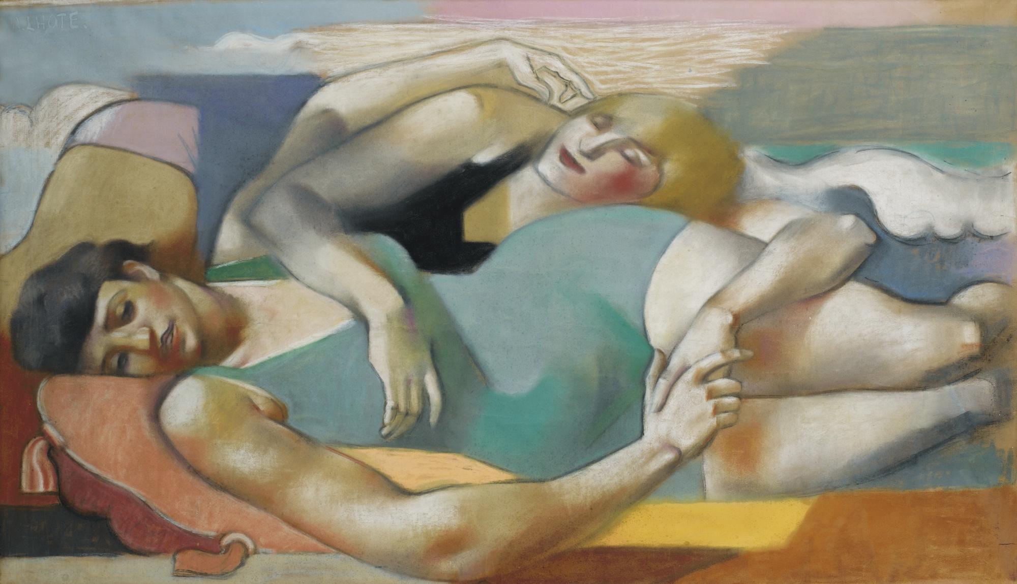 Andre Lhote-Sur La Plage-1928