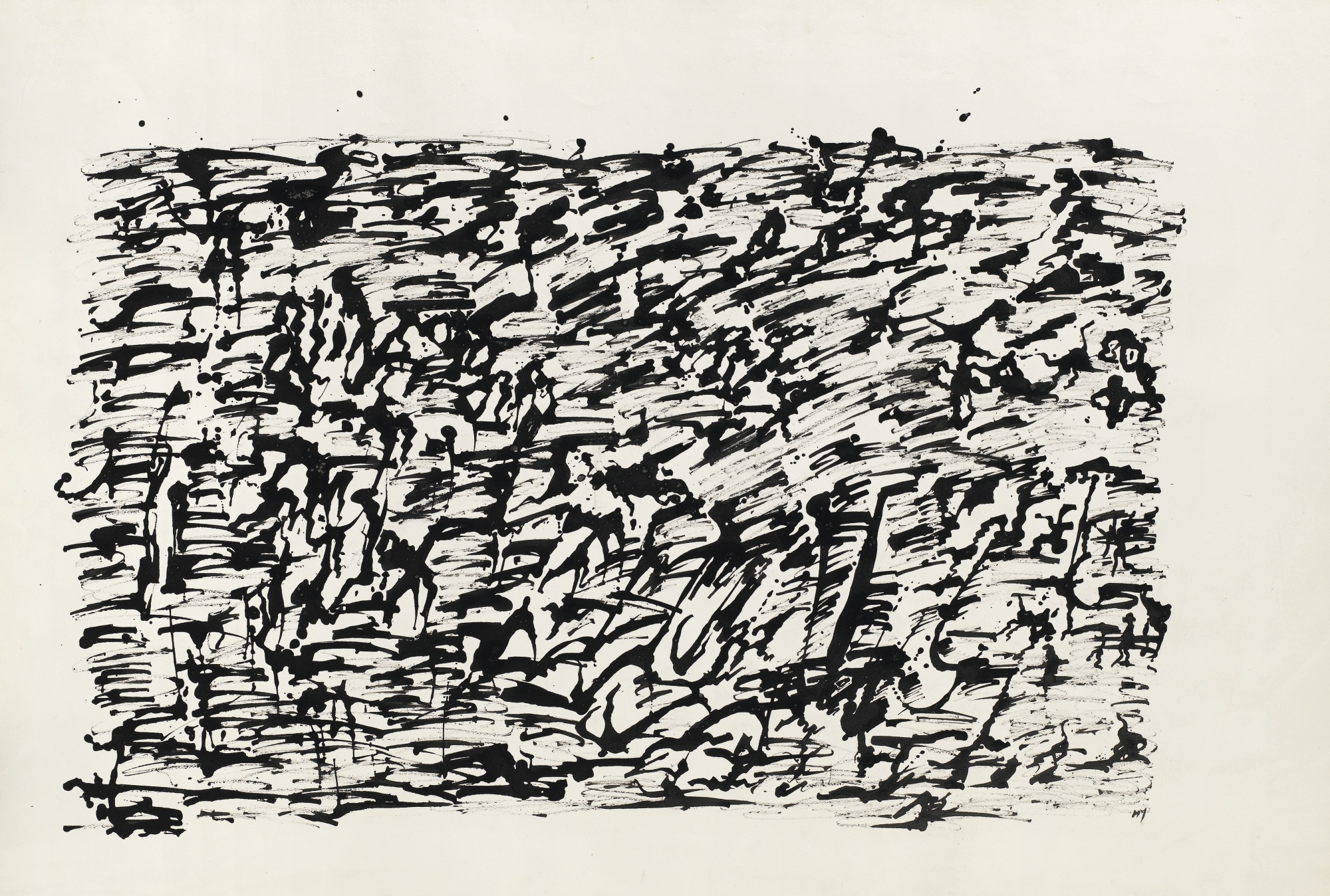 Henri Michaux-Untitled-1960