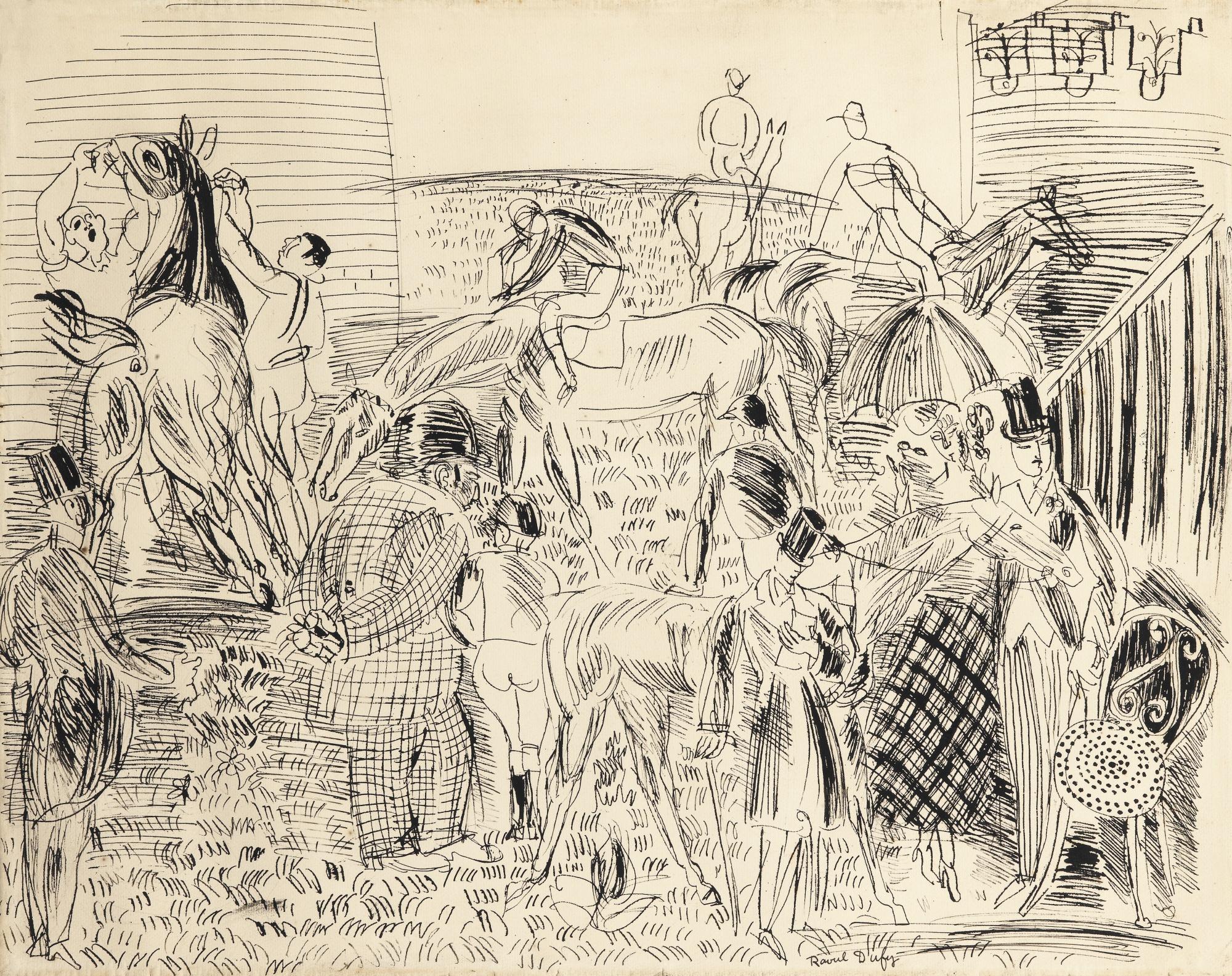 Raoul Dufy-Paddock-1913
