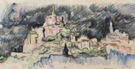 Paul Signac-Le Puy-En-Velay, Ciel D'Orage-1927