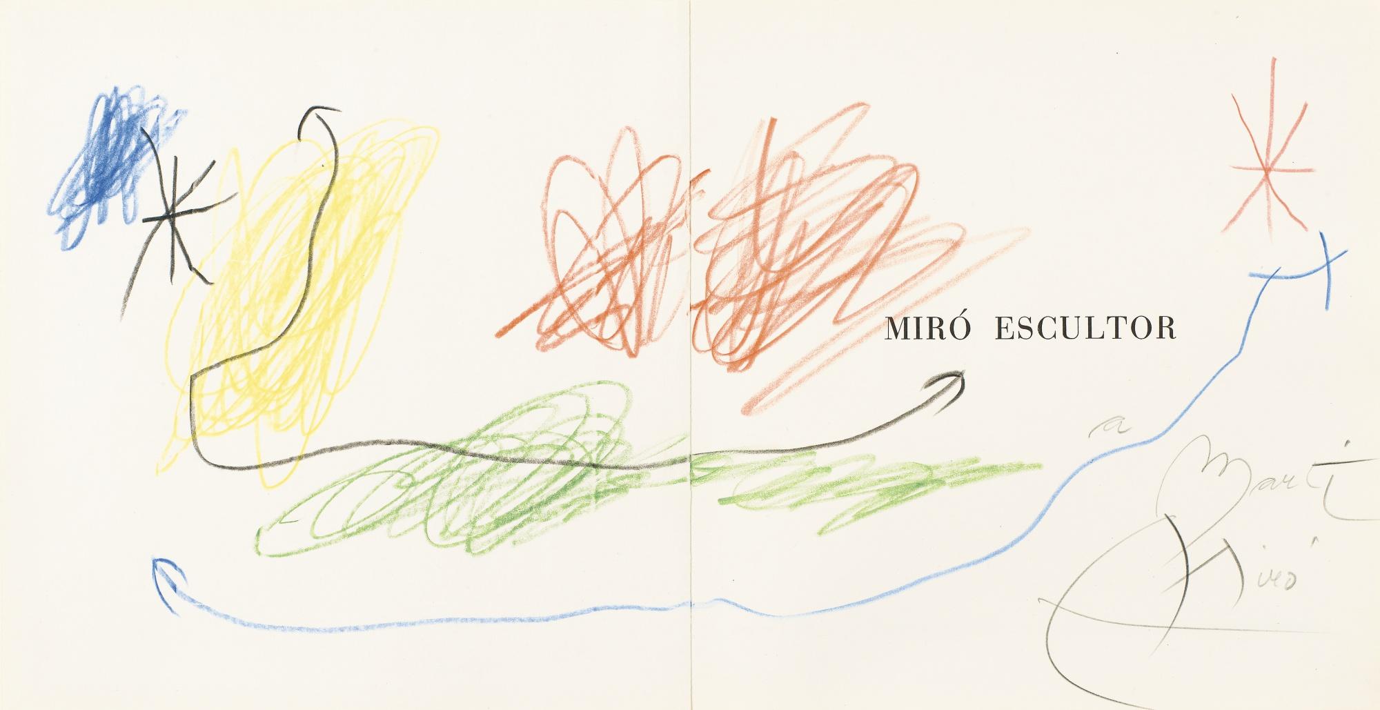 Joan Miro-Sans Titre-1972