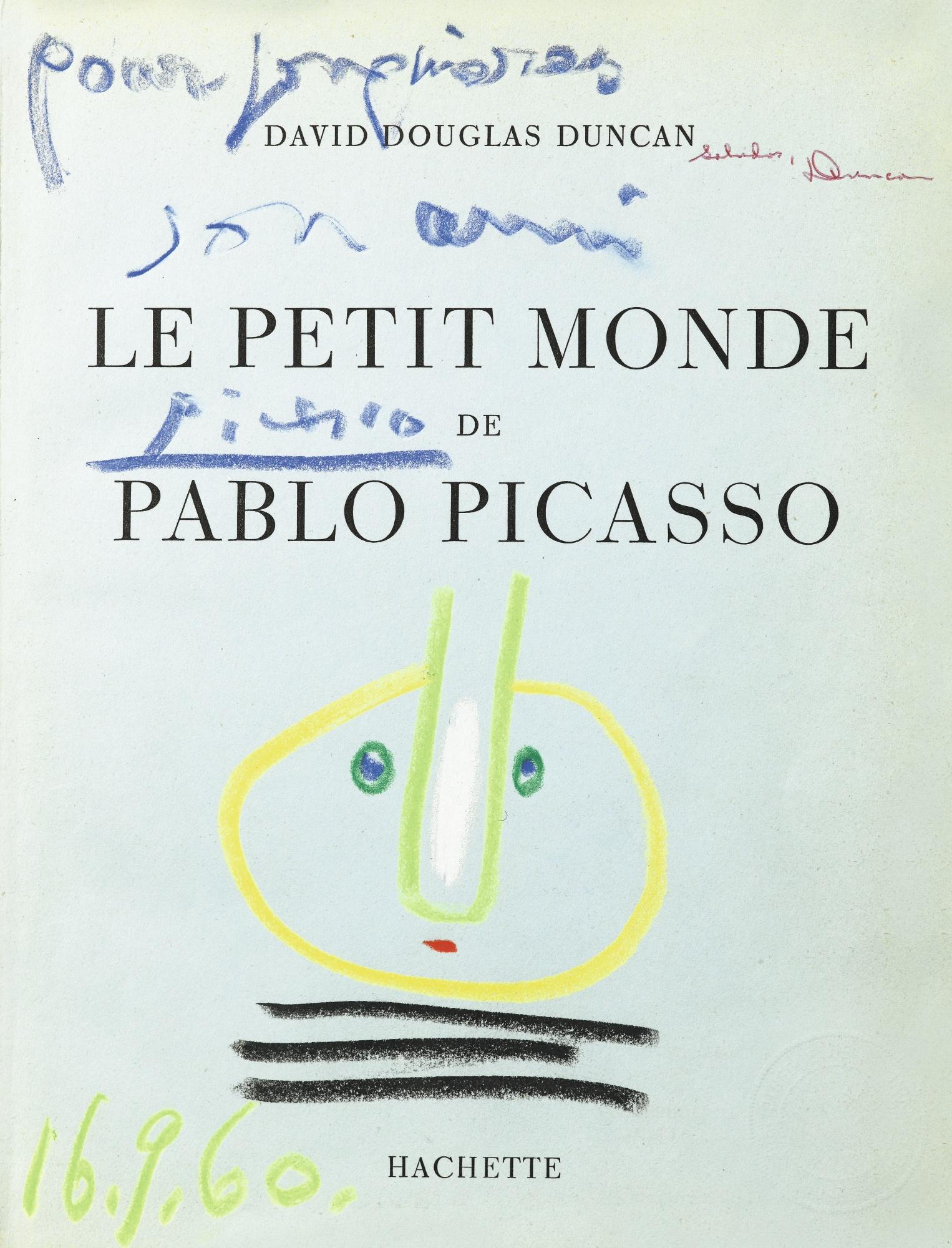 Pablo Picasso-Tete Ronde-1960