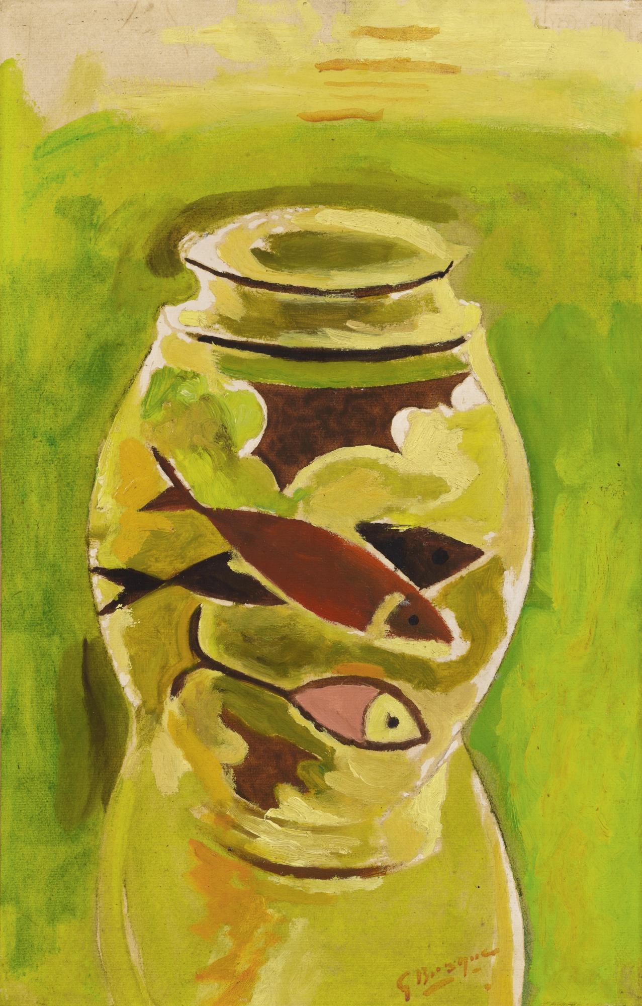 Georges Braque-L'Aquarium-1944