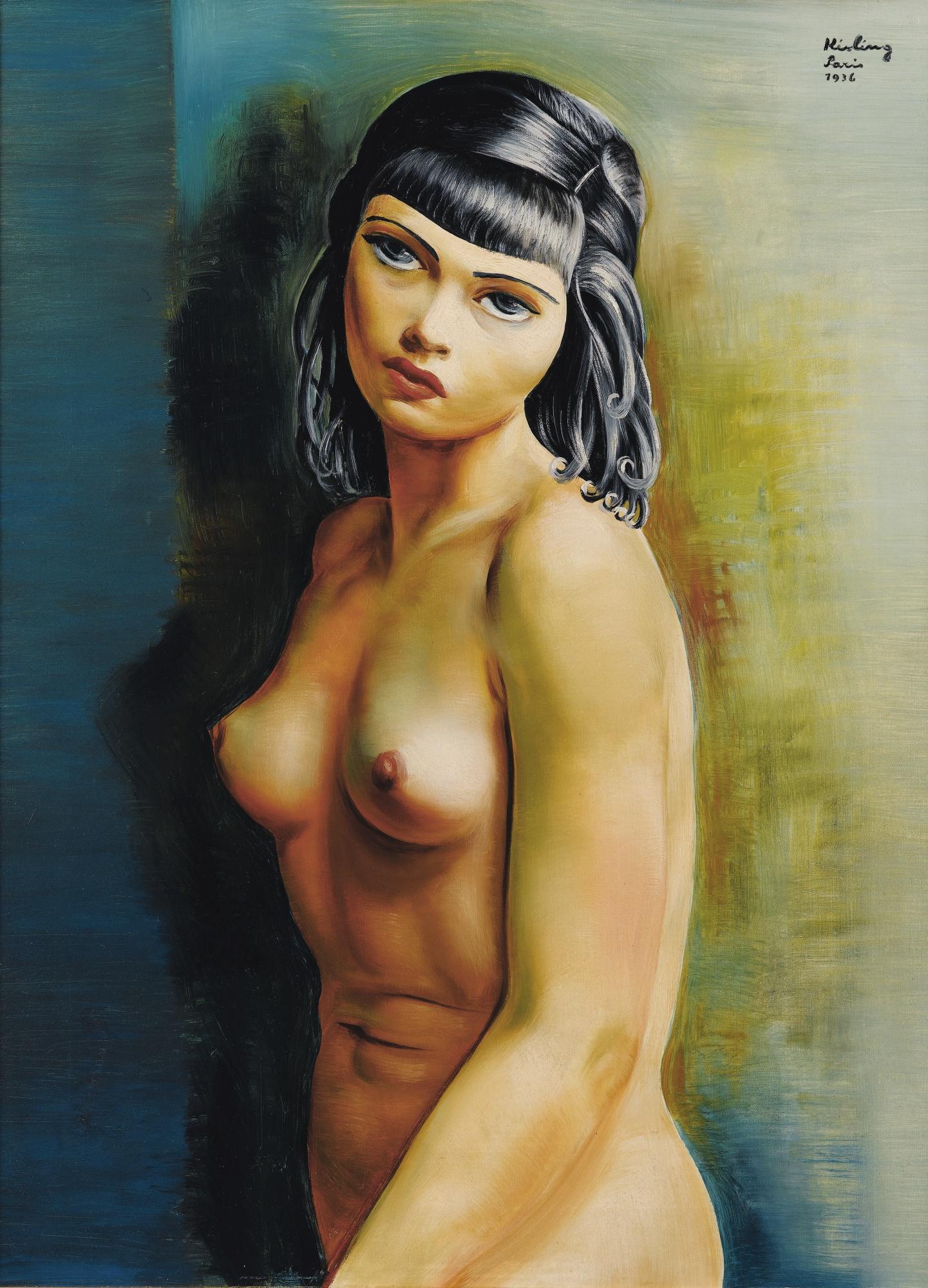 Moise Kisling-Bohemienne-1936