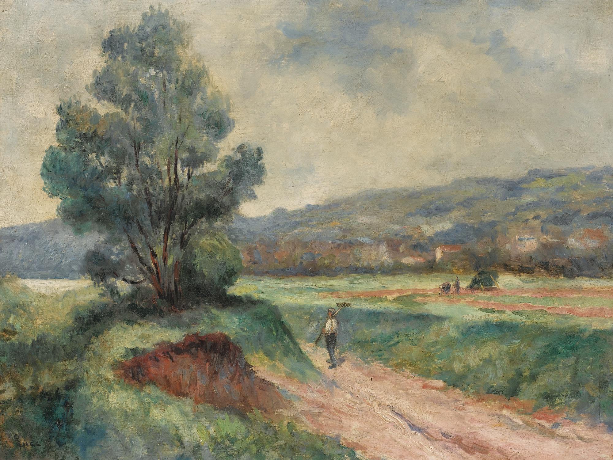 Maximilien Luce-Paysage Aux Environs De Rolleboise-1925