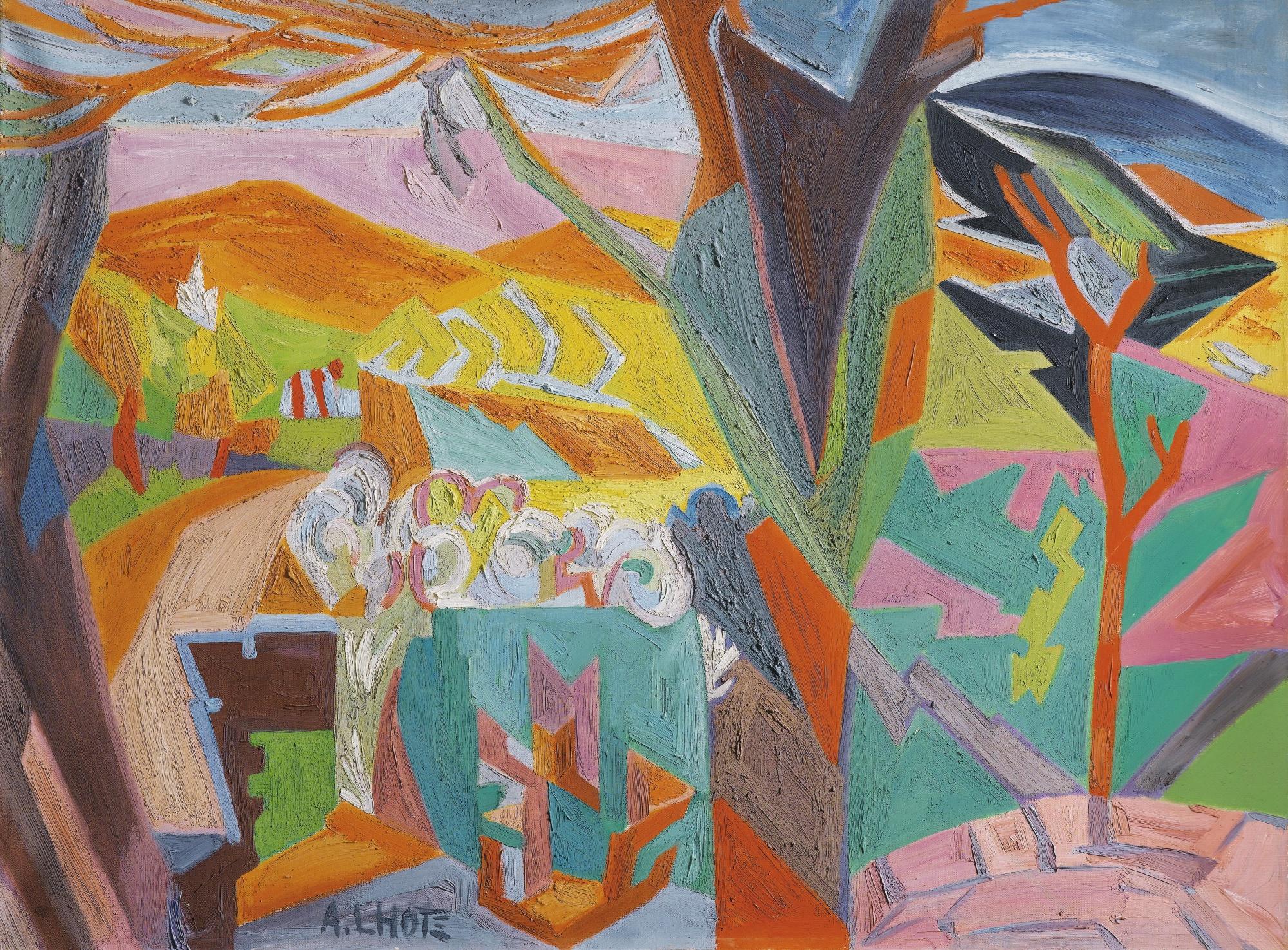 Andre Lhote-La Cadiere D'Azur-1952